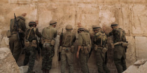 IDF soldiers at the Western Wall for the first time, 1967.